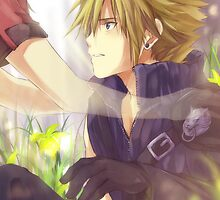 FF7 Not Alone by banafria