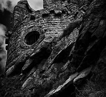 Mow Cop B&W by David J Knight