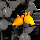 Autumn in Japan:  Funky Fruit by Jen Waltmon