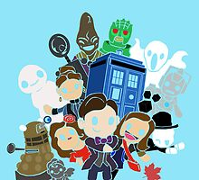 Doctor Who Series 7 Design by wolfiboi