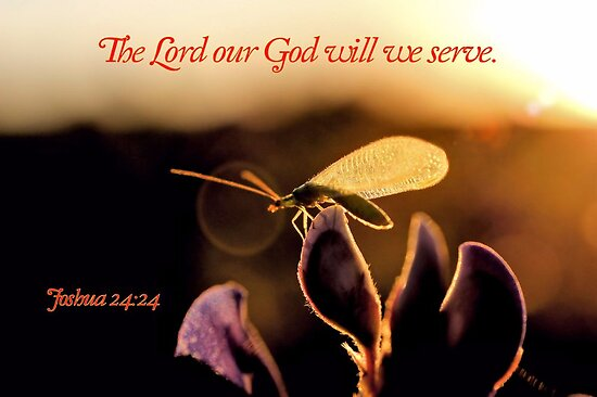 The Lord Our God Will We Serve by aprilann
