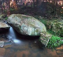 Lennox Falls (look closely to find the old bridge) by STEPHEN GEORGIOU