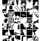 Go: Black & white grid by mymiddlenameis