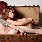 two petites in a trunk by FineArtNude