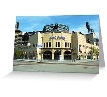 PNC Park - Pittsburgh Pirates Greeting Card