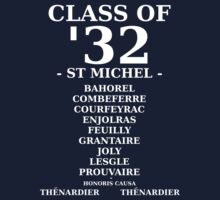 Class of '32 Leavers' Hoodie/Shirt by masqueblanc