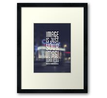 Image is just your imagination Framed Print