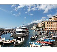 la mia bella ITALIA - CAMOGLI E IL SUO PORTICCIOLO-EUROPA-MONDO -  VETRINA RB EXPLORE APRILE 2013 -              Photographic Print