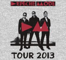 Depeche Mode : Tour 2013 Poster by Luc Lambert