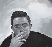 Johny Cash by Richard Eijkenbroek
