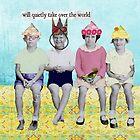 Retro Take Ovewr the World Altered Art by Gidget26