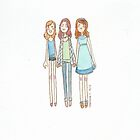 Lizzie Bennet Diaries - Lydia, Lizzie, Jane by MartinaC