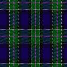 02228 Blue Metal  Jacket, (Unidentified #50) Fashion Tartan Fabric Print Iphone Case by Detnecs2013