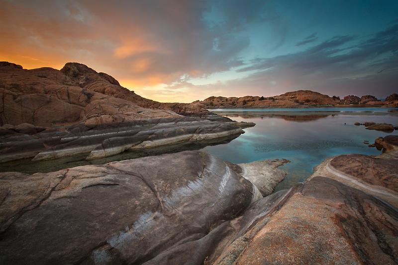 Sunset Melt by Bob Larson