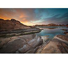 Sunset Melt Photographic Print