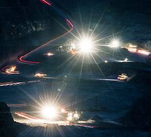 The Super Pit by Night by Tim Schoch