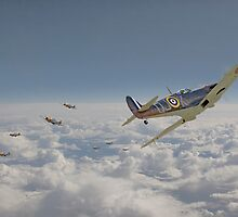 Spitfire - Battle of Britain by warbirds
