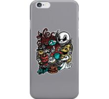 Nightmarish Characters iPhone Case/Skin
