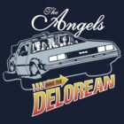 The Angels Have the Delorean by kal5000