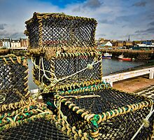 Arbroath Harbor Scotland by mlphoto