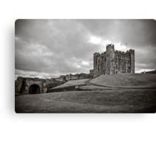 Bamburgh Castle England Canvas Print