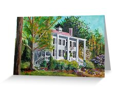 Palo Alto Plantation, Swansboro, NC Greeting Card