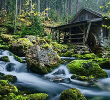 The fairytale mill by Simon Bauer