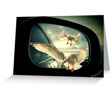 Driving home Greeting Card