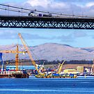 New Forth Crossing - 19 April 2013 by Tom Gomez
