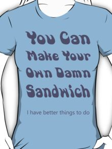 Make Your Own Sandwich T-Shirt