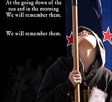 Lest We Forget by Marg Thomson Photography