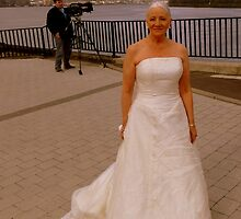 Moi Being A Bride For The Foyle Hospice by Fara