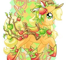 Apple Jack Carousel Cutie by Amelie  Belcher