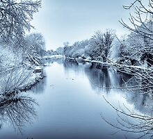 Berkshire Canal in Winter by mlphoto