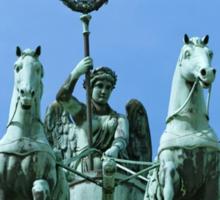 Brandenburg Gate Quadriga Berlin Sticker