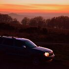 Grand Cherokee at Dusk by Firefly4029