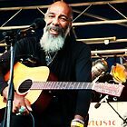 Richie Havens smile by Astrid Allan