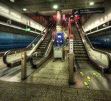 Hauptbahnhof Underground 2.0 by Yhun Suarez