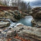 Looking Downstream at Millie's by Aaron Campbell