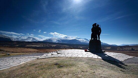The Commando Memorial by Maria Gaellman