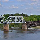 Coosa River Bridge by Eileen Brymer