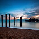 west pier by James Calvey