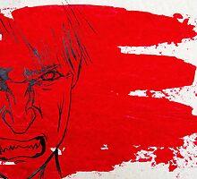 Red Rage at Society  by Dragos Olar V