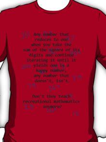 Recreational Mathematics T-Shirt