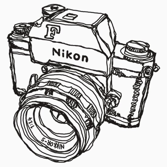 Nikon Camera Drawing Tumblr
