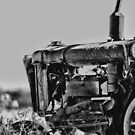 Tractor B&amp;W by MarkCooperPhoto