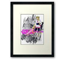 JEDI MOON Episode VI: Return of the Senshi Framed Print