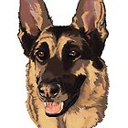 Candy German Sheppard Rescue by TrioDesigns