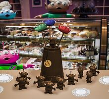 Alien Kid in a Candy Shoppe by Randy Turnbow