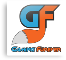 Gaming Furever Logo Canvas Print